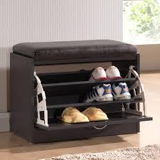 Shoe Storage Furniture by Shoe Cabinet Dark Brown Wood Shoe Storage Closet Storage