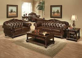 winsome traditional living room ideas with leather sofas sets