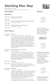Therapist Resume Examples by Therapist Resume Samples Visualcv Resume Samples Database