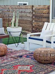 modern california backyard reveal the vintage rug shop the