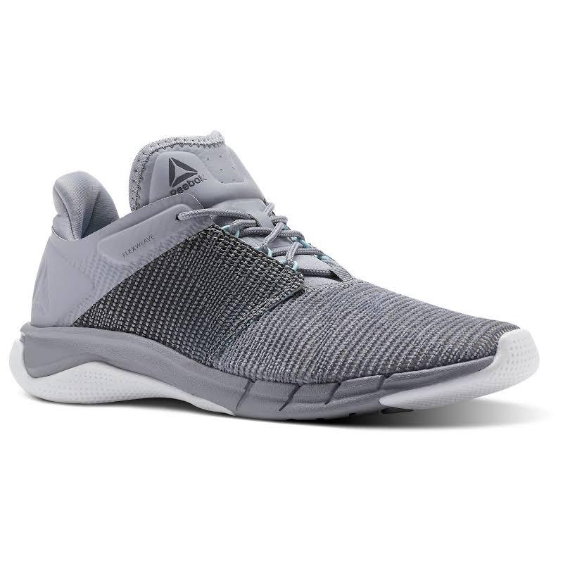 Reebok Fast Flexweave Gray Running Shoes