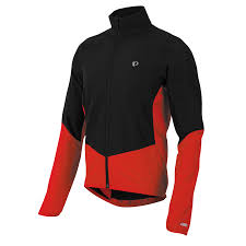 red cycling jacket men u0027s select thermal barrier jacket pearl izumi cycling gear
