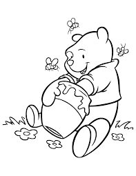winnie pooh coloring pages free printable winnie the pooh coloring