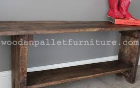 Wood Bench Plans Indoor by Rustic Pallet Wood Bench Instructions Wooden Pallet Furniture