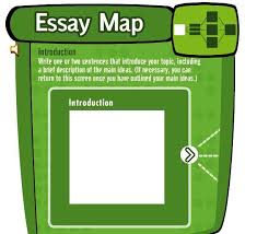 Essay Map     free interactive graphic organizer