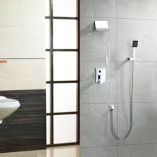 lightinthebox contemporary wall mount widespread waterfall shower