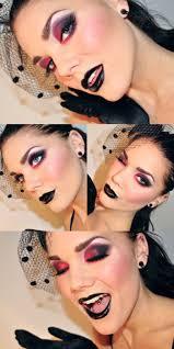Halloween Vampire Look 119 Best Gothic Dark Makeup Images On Pinterest Make Up Makeup