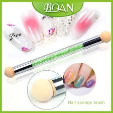 bqan 10pcs uv gel painting nail gradient shading pen nail art