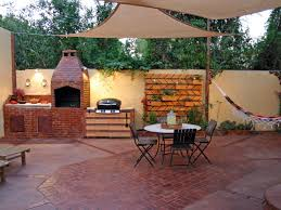 Simple Covered Patio Designs by Small Outdoor Kitchen Ideas Pictures U0026 Tips From Hgtv Hgtv