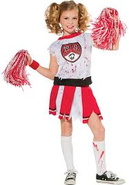 zombie boy halloween costume kids zombie cheerleader costume escapade uk