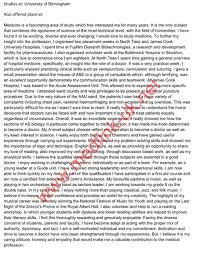Essay Medical School Personal Statement Length