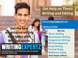thesis writing help Imhoff Custom Services