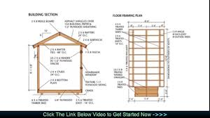 Plans For Building A Wood Storage Shed by Wood Storage Diy Shed Plans Building Plans For A Shed Youtube