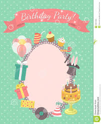 Birthday Invitation Cards For Kids Invitation Cards For Birthday Party Thebridgesummit Co