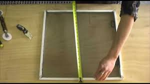 Window Screen Clips Plastic How To Make A Window Screen Youtube