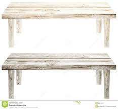 White Wood Furniture Texture Light Wooden Garden Bench On A White Background Isolated Set