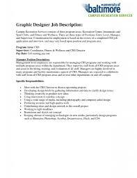 Sample Resume Objectives For Web Developer by Graphic Designer Job Description Resume Free Resume 10 Graphic
