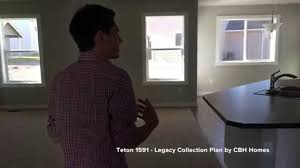 cbh homes teton 1591 legacy collection floor plan by cbh homes