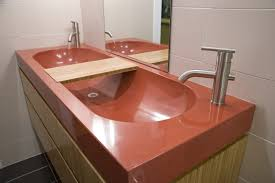 bathroom design red marble sink for trough sink bathroom with
