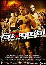 Strikeforce: Fedor vs Henderson Conference Call