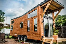 Tiny Cabin The Industrial Tiny Cabin By Wheellife Hiconsumption