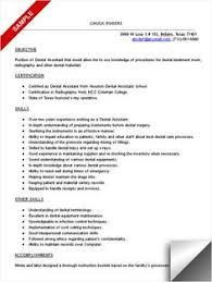 Sample Dental Hygienist Resume by Professional Resume Cover Letter Sample Dental Assistant Resume