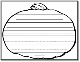 math worksheet   pumpkin writing paper   handwriting lines a to z teacher stuff   Writing