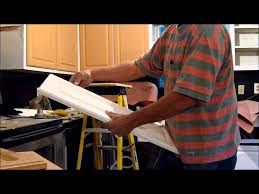Painting Thermofoil Kitchen Cabinets Save Your Cabinet Doors Youtube