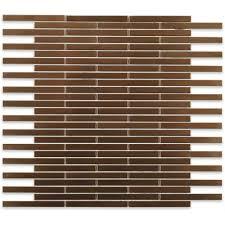 splashback tile metal copper brick 12 in x 12 in x 8 mm