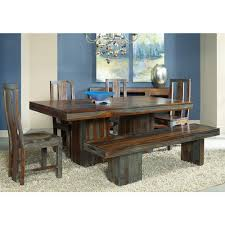 Palliser Alula Grayson Wood Dining Table In Highlight Wash Humble Abode