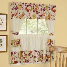curtains elegant kitchen curtains valances decor