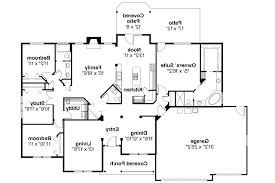 house plans open floor plan mo leroux brick home and split bedroom