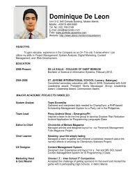 Resume Sample For Ojt Pdf by Sample Resume For Ojt Management Students Augustais