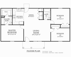 Custom Ranch Floor Plans Slab Home Designs Of Awesome Ranch House Plans And Magnificent