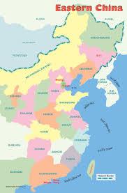 Map Of China Provinces Willgoto China Eastern China Map