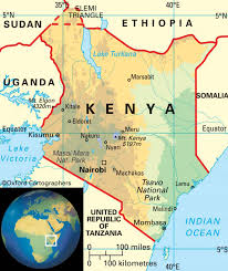 Map Of Kenya Africa by Home Judah 1