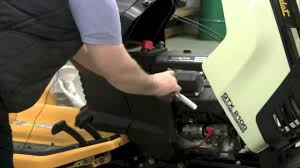 how to change a cub cadet lawn tractor spark plug youtube