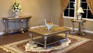 Alya Rectangle Coffee Table Set Toronto For Living Room Xiorex - Living room coffee table sets