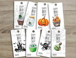 printable halloween favor tags kids halloween party favor