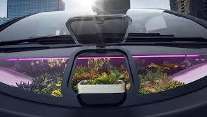 rinspeed rinspeed oasis concept a u0027garden plot on wheels u0027 for ces 2017 by