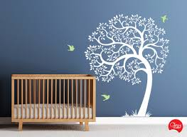 Tree Decal For Nursery Wall by Tree Wall Decal Amazing Tree Removable Vinyl Decal Nursery