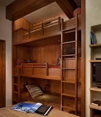 bedroom design creative wooden loft bed furniture above simple