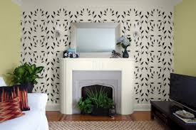 wall stencils for living room luxury home design fancy under wall