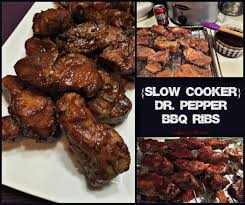 slow cooker dr pepper bbq ribs an affair from the heart