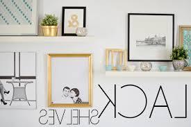 Hanging Bookshelves Ikea by Moderne Möbel Und Dekoration Ideen Tolles Ikea Algot Wall