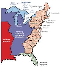 United States Map Delaware by United States Early Development And Globalization