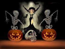 free halloween wallpaper download betty boop happy halloween wallpaper background theme desktop