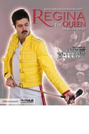 """... Lorenzo Colucci e Diego Chiacchierini, una sontuosa scenografia con vivaci costumi """"Wembley style"""": tutto questo è """"The Queen Tribute Show"""" dei Regina, ... - 101457759-a1fad732-9dad-43f2-af47-a41565642619"""