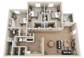 3 Bedroom Apartment Floor Plan Luxury 3 U0026 4 Bedroom Student Apartments In Columbia Sc