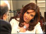 BBCBrasil.com | Reporter BBC | Em 1ª entrevista, Cristina defende ...